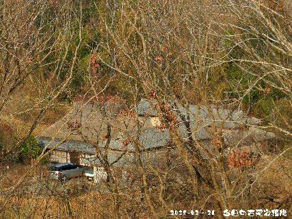 2018-02・26 今日の古民家模様.JPG