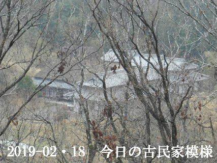 2019-02・19 今日の古民家模様.JPG