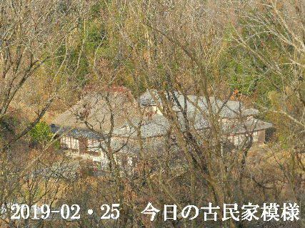 2019-02・25 今日の古民家模様.JPG
