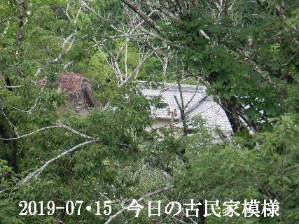 2019-07・15 今日の古民家模様.JPG