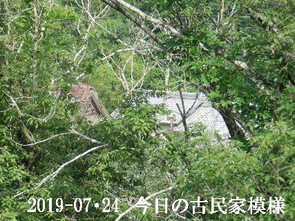 2019-07・24 今日の古民家模様.JPG