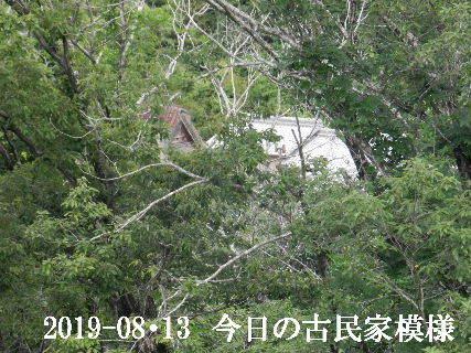 2019-08・13 今日の古民家模様.JPG